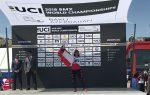 Corredora de BMX apoyada por Puerto Valparaíso logra tricapeonato mundial