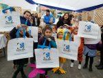 Comunidad Logística de San Antonio promueve uso de bolsas reciclables en el Día del Medio Ambiente