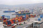 Movimiento de contenedores baja 15,9% en el Puerto de Valparaíso