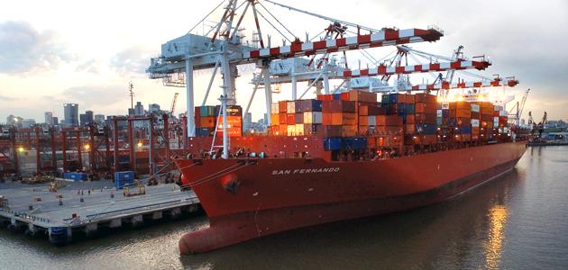 Exportaciones argentinas crecen 5,6% durante julio