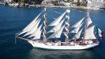 [Video] Grandes veleros dejan Puerto Valparaíso