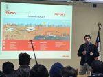 Agunsa realiza charla a estudiantes de liceo Polivalente de Talcahuano