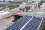 APM Terminals instala paneles solares en su recinto en Uruguay