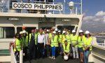 Puerto de Valencia acoge primera escala del buque COSCO Philippines