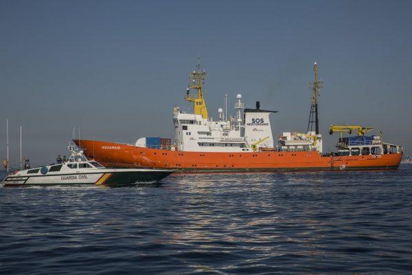 España: Aquarius concreta su llegada al Puerto de Valencia