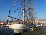Antofagasta Terminal Internacional recibe al velero brasileño Cisne Branco