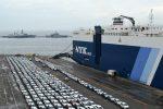 Puerto Valparaíso retoma operación de descarga de vehículos en el Terminal 2