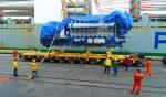 Colombia: Puerto de Santa Marta recibe carga sobredimensionada para proyecto hidroeléctrico