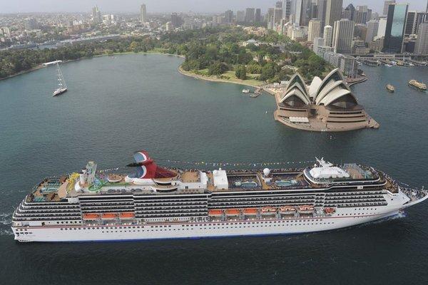 Carnival Corporation aumentará en 13% sus escalas en puertos australianos durante temporada 2018/2019