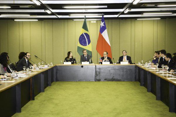 Chile y Brasil planean suscribir acuerdo de libre comercio antes de fin de año