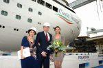 Italia: Costa Cruceros realiza botadura de su nueva nave Costa Venezia