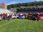 Portuarios de Iquique disputan cuadrangular de fútbol en Francia