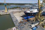 Realizan botadura del crucero Mein Schiff 2 en astillero Meyer Turku