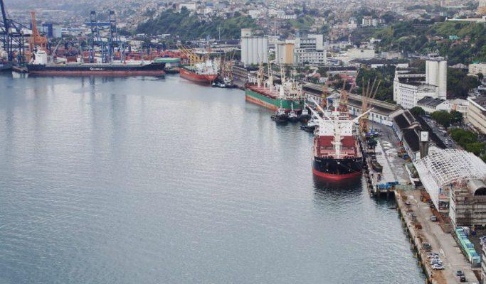 Brasil: Autorizan al Puerto de Salvador para recibir naves de hasta 366 metros de eslora