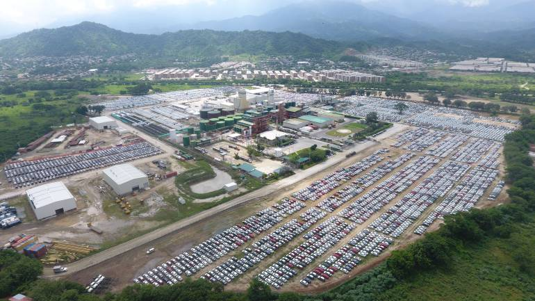 Colombia: Puerto de Santa Marta comienza a recibir vehículos desde Eslovaquia