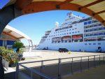 Italia: Silver Muse realiza escala inaugural en Puerto de Cagliari