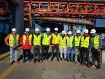 Trabajadores de STI visitan a sus pares de Puerto Ventanas