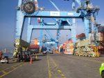 """Portuarios movilizados y reunión con TPS: """"Esperamos llegar a un acuerdo en beneficio de los trabajadores y del país"""""""