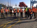Seremis de Valparaíso recorren instalaciones de Terminal Pacífico Sur