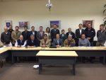 Ultraport Valparaíso presenta planes de trabajo en capacitación y seguridad laboral a autoridades regionales