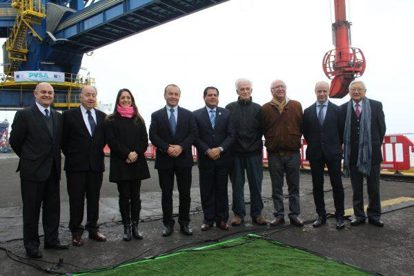Galería: Inauguración de cargador viajero en Puerto Ventanas