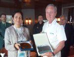 España: Puerto de Vigo atiende primera recalada del crucero Marella Spirit