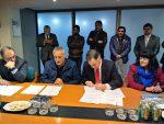 Trabajadores portuarios y EPV firman alianza para el desarrollo del Puerto de Valparaíso