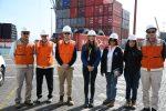 Autoridades Ambientales de Antofagasta visitan instalaciones del Complejo Portuario Mejillones