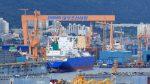 Construcción de buques decae durante el segundo trimestre