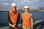 Exponen proyectos del Complejo Portuario Mejillones a Ministra de Transportes