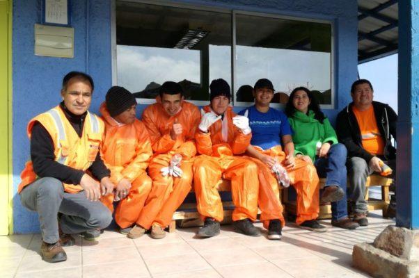 Sindicato Ultraport Coquimbo apoya a niños de escuela especial
