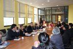 Autoridades y dirigentes sindicales de Maersk San Antonio coordinan certificaciones para ex trabajadores