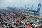 Transferencia de contenedores de Westports Malasia cae 4% al finalizar el primer semestre