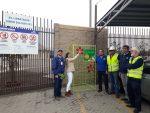 Instalan módulos de acopio de botellas plásticas y latas en Antepuerto de Arica