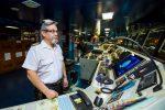 Marinos mercantes chilenos cuentan su experiencia vía Facebook live durante recalada en Puerto San Antonio