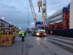 Empormontt recibe segundo embarque para Parque Eólico Aurora