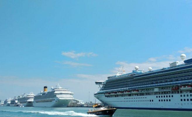 Puertos españoles reciben cerca de 2.300 escalas cruceros hasta julio