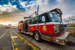 [Galería] El carro de bomberos más moderno de Chile y su llegada al Puerto de San Antonio