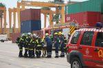 España: Realizan simulacro de emergencia por sustancias radiactivas en Puerto de Valencia