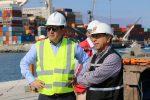 DOP realiza visita inspectiva a obras de reconstrucción del Puerto de Iquique