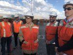 Puerto Angamos y Ultraport  reciben visita de Ministra de Transportes