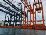 Honduras: Arriban nuevas grúas Super Post Panamax a Puerto Cortés