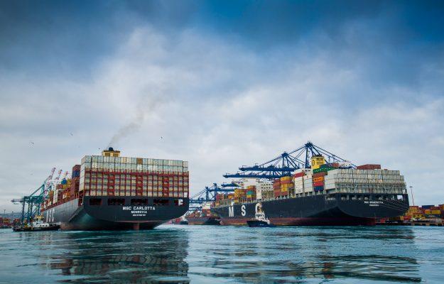 Puerto San Antonio supera transferencia de 1 millón de TEUs a cuatro meses de fin de año