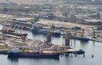 Alemania: Puerto de Rostock registra caída en movimiento de carga durante primer semestre