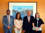 España: Autoridad Portuaria de Tenerife recibe a representante de Israel