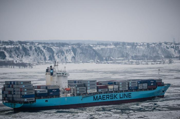 Maersk probará una ruta para transportar contenedores a través del ártico