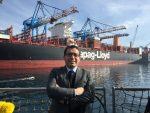 """Alejandro Lagunas: """"La Marina Mercante es una excelente carrera y una industria que está en constante evolución"""""""