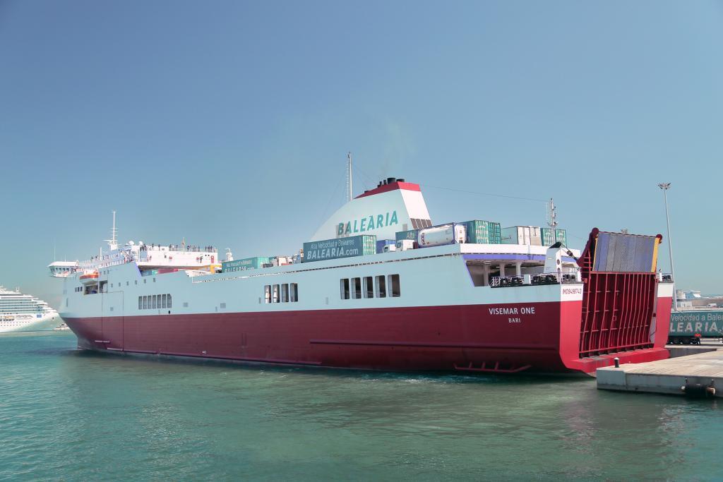 Baleària invierte 55 millones de euros en compra de ferry Visemar One