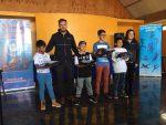 Puerto Angamos dona indumentaria deportiva para el Club Atlético de Mejillones
