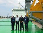 ESL Shipping recibe a buque granelero propulsado a GNL